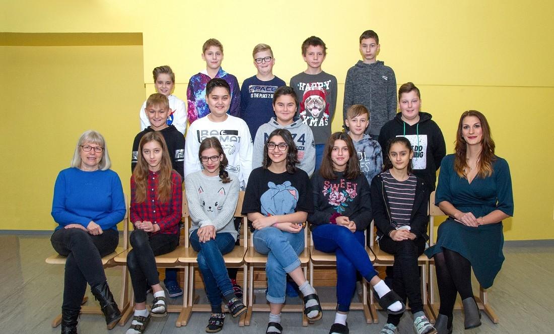Volksschule Lindenfeld Judenburg - Klassenfoto Klasse 3b