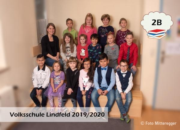 Volksschule Lindenfeld Judenburg - Klassenfoto Klasse 2b