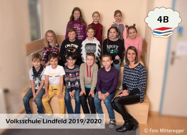 Volksschule Lindenfeld Judenburg - Klassenfoto Klasse 4b